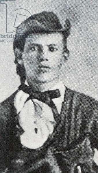 Jesse James at age 17, 1754