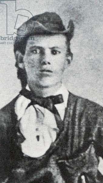 Jesse James at age 17
