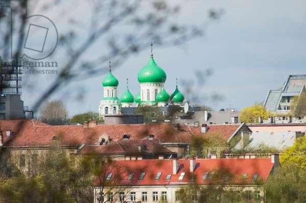 Church of St. Michael and St. Konstantine (Romanov Church), Vilnius, Lithuania (photo)