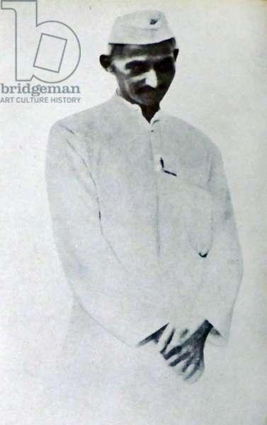 Mohandas Karamchand Gandhi in 1921