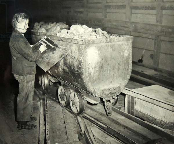 mining in france was revived under the Marshall plan in 1950.