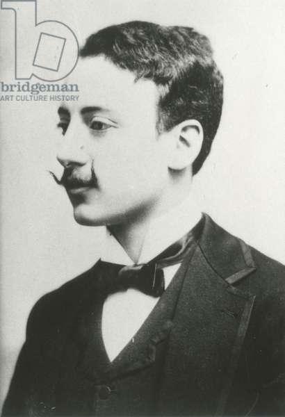 Portrait of Gabriele D'Annunzio