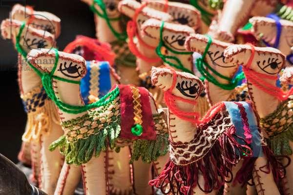 Toy Camels, Cairo, Al Qahirah, Egypt (photo)