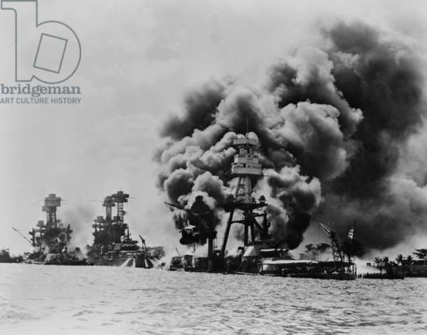 Japanese attack on Pearl Harbour, 1941