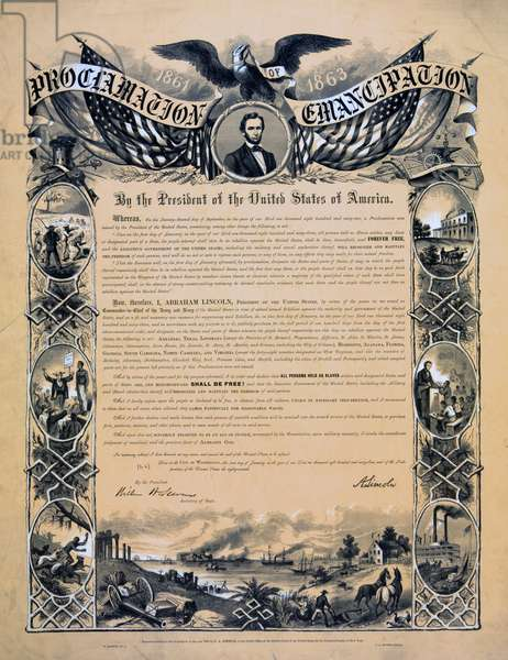 Proclamation of Emancipation, 1864