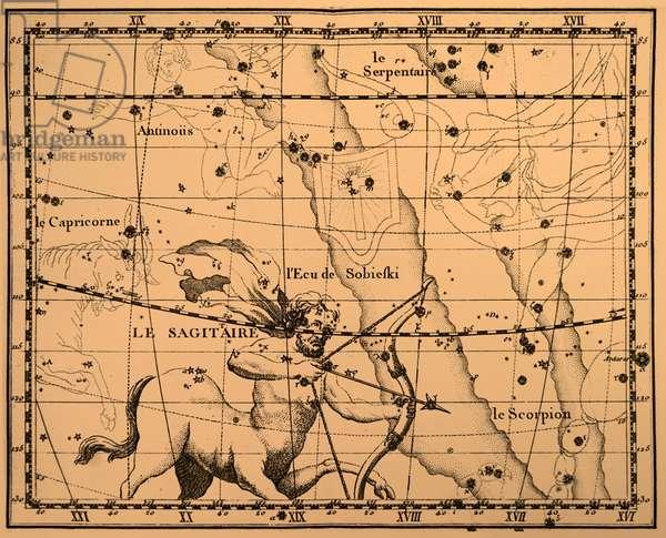 The constellation Sagittarius.