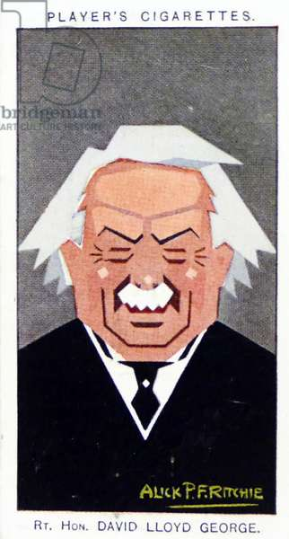 1926 Player's cigarette card depicting: David Lloyd George