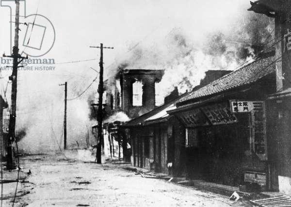 Korean War. September 1950