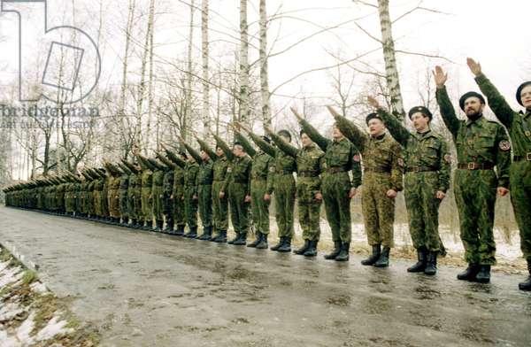 The Russian National Unity Led By Alexander Barkashov
