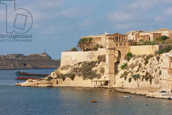Bighi Hospital, Kalkara, Malta (photo)