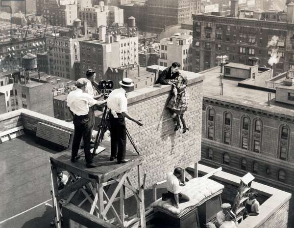 Allene Ray Stunt Woman, New York, USA, 1925 (b/w photo)