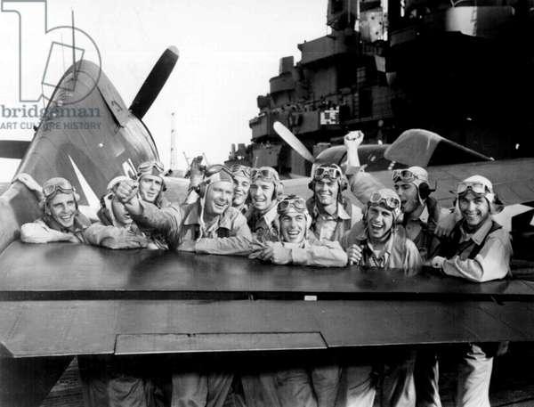 World War Two USS Lexington Pilots