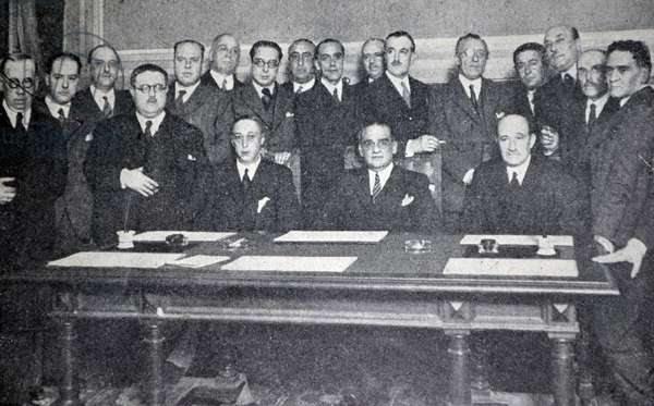 Spanish civil war: traditionalists Deputies
