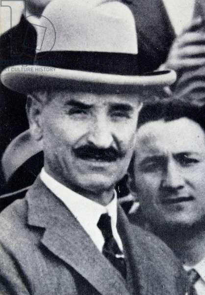 Queipo de Llano; Spanish military leader  during the  Spanish Civil War.