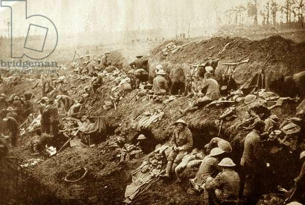 German artillery, 1915