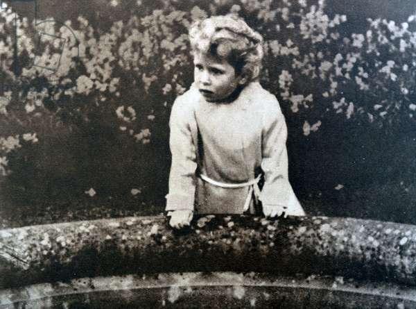 A Young Princess Elizabeth, later Queen Elizabeth II, 1929