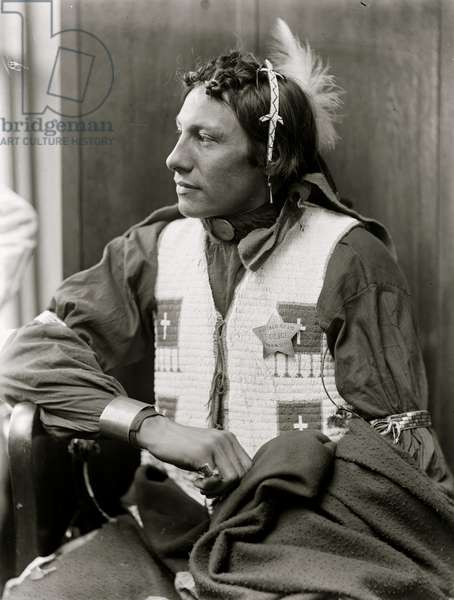 Buffalo Bill American Indian portrait 1900 (photo)