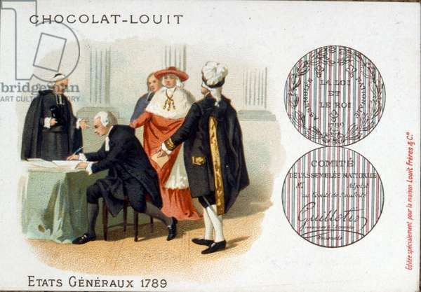 The estates general, a general assembly representing the French estates of the realm