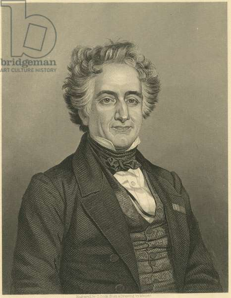 Portrait of Michel Chevreul