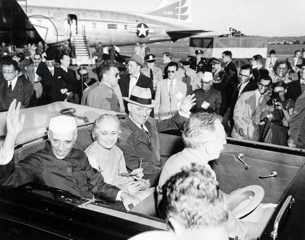 President Truman and Prime Minister Jawaharlal Nehru