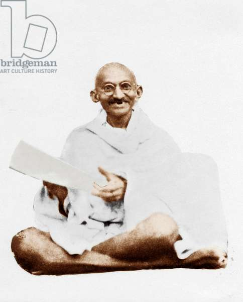 Mohandas Karamchand Gandhi dit Mahatma Gandhi (1869-1948), leader politique et spirituel indien, 1926 - Mahatma Gandhi, 1926 ©Dinodia/Uig/Leemage