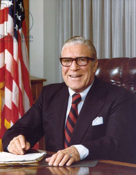 Clarence Kelley, Director of the FBI, 1978 (photo)