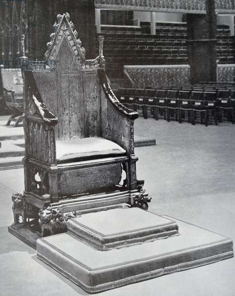 Coronation Chair, 1890