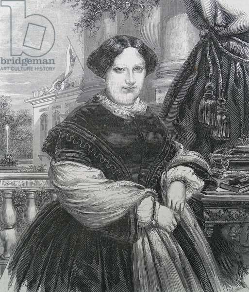 Portrait of Queen Marie Christina of Spain