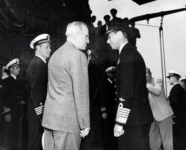 US President Harry Truman and King George VI
