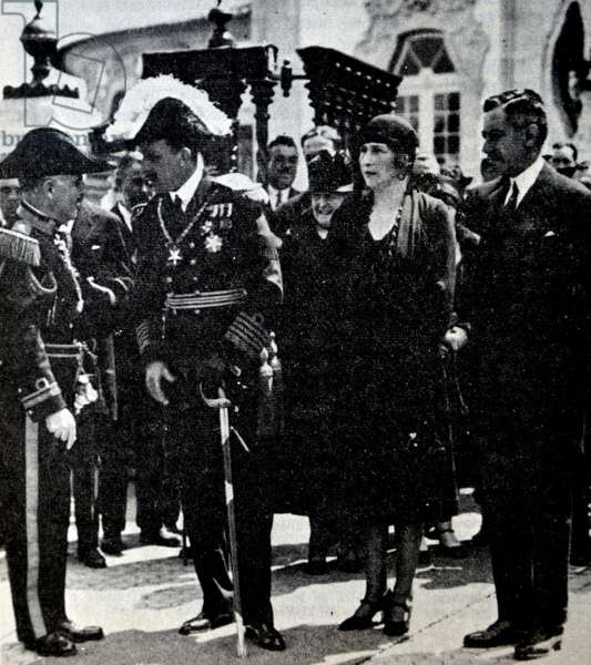 Alfonso XIII of Spain and Victoria Eugenie of Battenberg