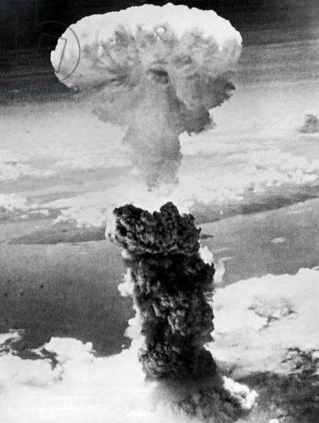 Nagasaki Atomic Bomb (b/w photo)