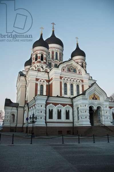 Alexander Nevsky Cathedral in Tallinn, Estonia (photo)