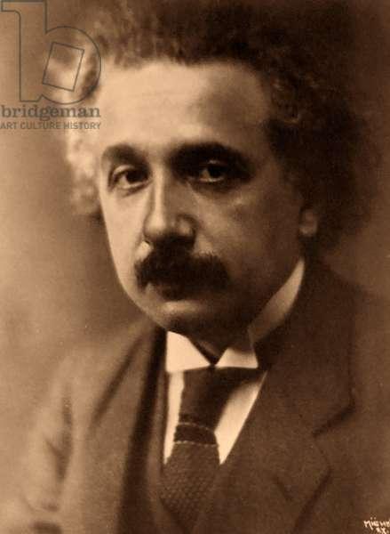 Albert Einstein (1879 – 1955), a German-born theoretical physicist