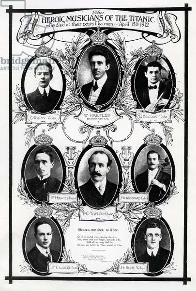 Musicians aboard the Titanic