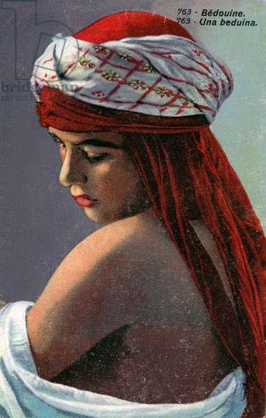 A Bedouin girl, circa 1890