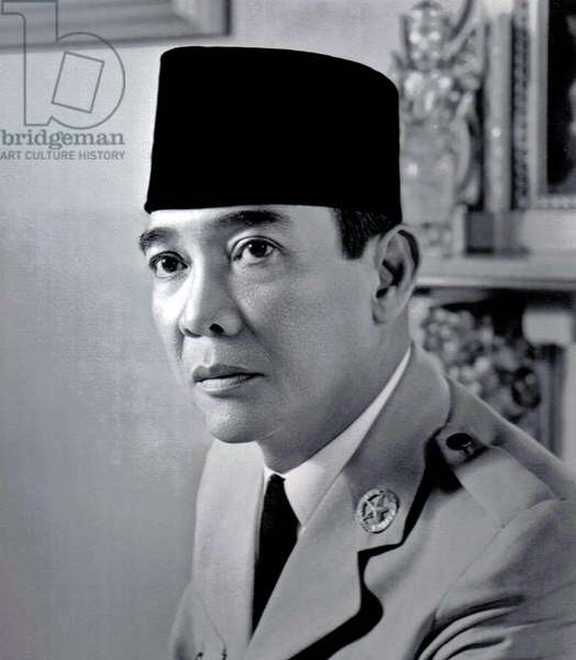 Ahmed Sukarno first President of Indonesia