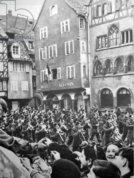 World war two: liberation of Colmar, France 1945