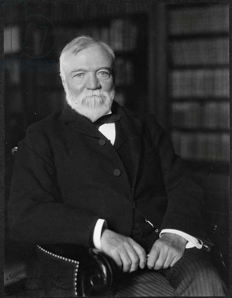 Andrew Carnegie was a Scottish American industrialist who led the enormous expansion of the American steel industry.