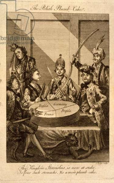 The Polish plumb-cake, 1774