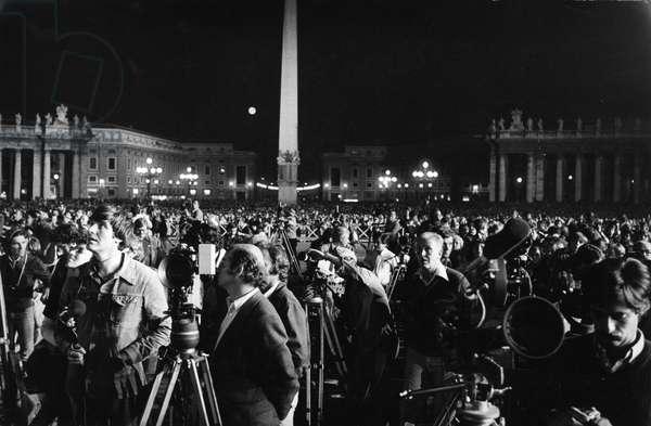 Election of Pope John Paul II, Karol Jozef Wojty? journalists in St