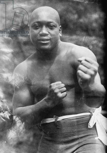 Jack Johnson, Heavyweight Champion of the World 1912 (photo)