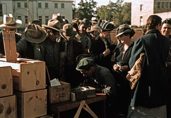 St. Johns, Arizona. Rationing in America During World War II. 1944
