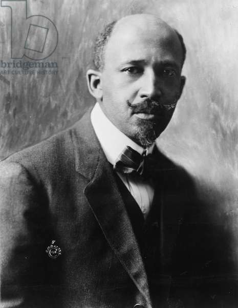 William Edward Burghardt Du Bois (1868-1963)  African American scholar, writer and civil rights activist.