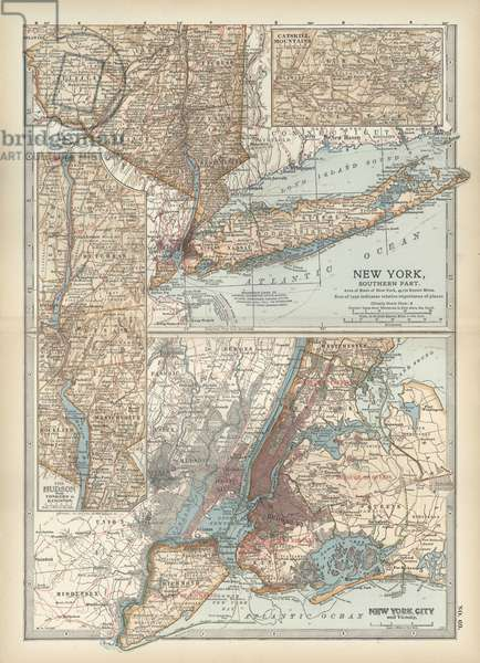 Map of New York State