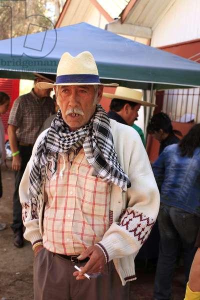 Old Chilean Man (photo)