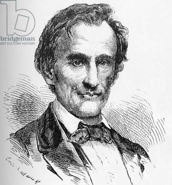 USA History: Abram Lincoln (of Illinois). candidate of the republican party.
