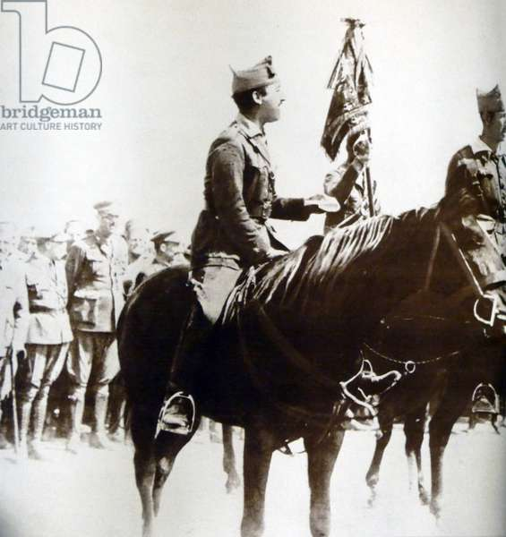 Francisco Franco 1892-1975 was second in command of the Spanish Foreign Legion from 1921