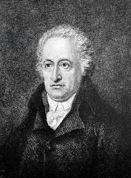 Johann Wolfgang von Goethe 57 years old