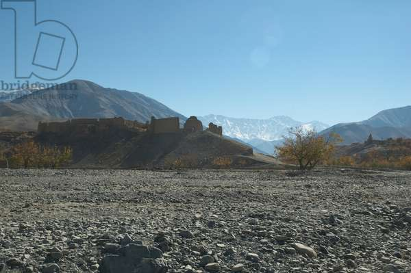 Mud Fort in the Siagerd Valley, Parwan Province, Afghanistan (photo)