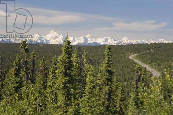 USA, Alaska, Talkeetna Mountains